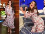 Lea Michele In Saloni - 'The Ellen Degeneres Show'