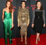 ABC's Scandal 100th Episode Celebration Red Carpet Roundup