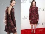 Alexis Bledel In J. Mendel - 'The Handmaid's Tale' Tribeca Film Festival Premiere