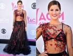 Cassadee Pope In Yanina Couture - 2017 ACM Awards