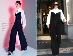 Catherine Zeta-Jones In Editions by Georges Chakra - The Today Show