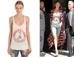 Gigi Hadid's Tommy Hilfiger Tommy Highrollers jersey tank top