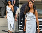 Zoe Saldana In Baja East - Jimmy Kimmel Live!