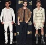 2017 MTV Movie & TV Awards Menswear Red Carpet Roundup