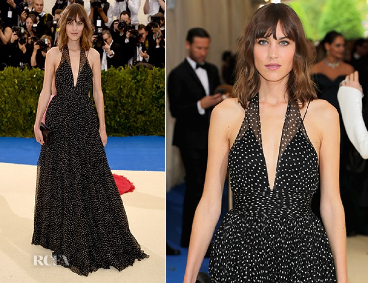 Image result for alexa chung dress red carpet