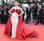Araya A. Hargate In Alexis Mabille Couture - 'The Meyerowitz Stories' Cannes Film Festival Premiere