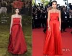 Bella Hadid In Christian Dior Couture - 'Okja' Cannes Film Festival Premiere
