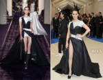 Celine Dion In Atelier Versace - 2017 Met Gala