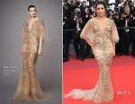 Eva Longoria In Marchesa - 'The Killing Of A Sacred Deer' Cannes Film Festival Premiere