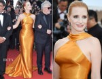 Jessica Chastain In Armani Privé - Cannes Film Festival 70th Anniversary Celebration