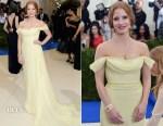 Jessica Chastain In Prada - 2017 Met Gala