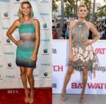 Kelly Rohrbach In Missoni & Fendi - 'Despierta America' & 'Baywatch' World Premiere