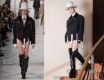 Li Yuchun In Maison Margiela Couture - 'Ismael's Ghosts' Cannes Film Festival Premiere