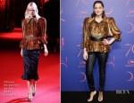 Marion Cotillard In Ulyana Sergeenko Couture - Cannes 70th Anniversary Dinner