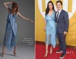 Chloe Bridges In Diane von Furstenberg & Adam DeVine In Tommy Hilfiger - 2017 NBA Awards
