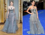 Isabela Moner In Yanina Couture - 'Transformers: The Last Knight' London Premiere