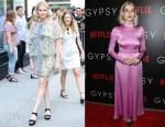 Lucy Boynton In Chloe & Valentino - Build Series Presents: 'Gypsy' & New York Screening