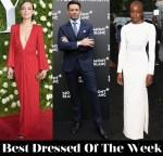 Best Dressed Of Week - Olivia Wilde In Michael Kors Collection, Hugh Jackman In Ermenegildo Zegna Couture, Danai Gurira In Gabriela Hearst