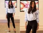 Nicole Scherzinger In Petersyn - X Factor Edinburgh Auditions
