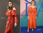 Olivia Palermo In Banana Republic - 2017 CFDA Fashion Awards