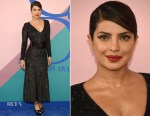 Priyanka Chopra In Michael Kors Collection - 2017 CFDA Fashion Awards