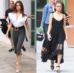 Selena Gomez In Jacquemus & Proenza Schouler - 'Bad Liar' LA Promotion