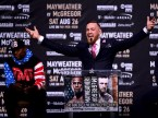 Conor McGregor Knocks Out in Custom Made David August