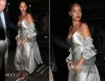Rihanna In Nili Lotan - Chiltern Firehouse