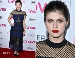 Alexandra Daddario In Self-Portrait - 'The Layover' LA Premiere