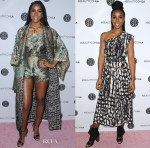 Kelly Rowland In Camilla & Tracy Reese - 5th Annual Beautycon Festival