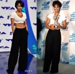 Teyana Taylor pays homage to Janet Jackson at the 2017 MTV VMAs