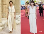 Astrid Bergès-Frisbey In Chanel - 43rd Deauville American Film Festival Opening Ceremony