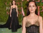 Dakota Johnson In Gucci - Green Carpet Fashion Awards