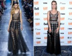 Dianna Agron In Christian Dior - 'Novitiate' Toronto Film Festival Premiere