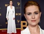 Evan Rachel Wood In Jeremy Scott for Moschino - 2017 Emmy Awards