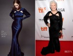 Glenn Close In Zac Posen - 'The Wife' Toronto Film Festival Premiere