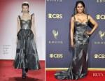 Laverne Cox In Naeem Khan - 2017 Emmy Awards