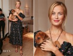Carolyn Murphy In Markarian - Animal Haven Cocktail Party