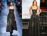 Daniella Garcia Lorido In Christian Dior - 'Geostorm' LA Premiere