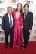 Dustin Hoffman, Grace Van Patten In Sachin & Babi, director Noah Baumbach
