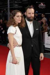 Director Yorgos Lanthimos and his wife Ariane Labed in Chanel