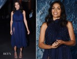Rosario Dawson In Maria Lucia Hohan - Museum of Artemis: Life on the Moon
