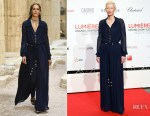 Tilda Swinton In Chanel -  Lumiere Film Festival Opening Ceremony