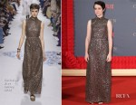 Claire Foy In Christian Dior - 'The Crown' Season 2 London Premiere