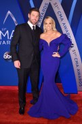 Mike Fisher and Carrie Underwood In Fouad Sarkis Couture