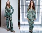 Millie Brady In Blumarine - The Perception at W London Launch