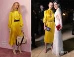 Bella Hadid In Fendi - Bulgari Resort Dubai Opening