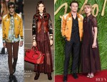Charlie Heaton and Natalia Dyer In Coach -  The Fashion Awards 2017