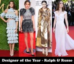 Designer of the Year & Couturier of the Year - Ralph & Russo Couture
