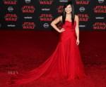 Kelly Marie Tran In Thai Nguyen Atelier - 'Star Wars: The Last Jedi' LA Premiere